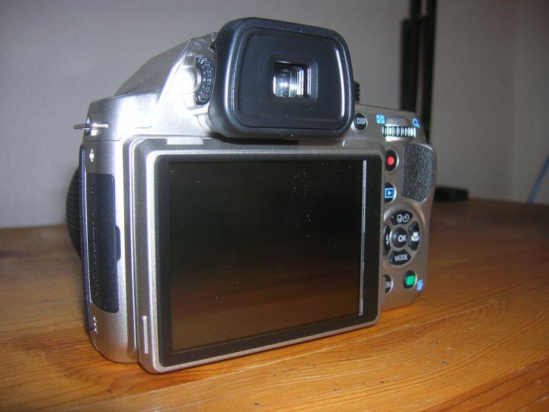カメラ本体(背面)