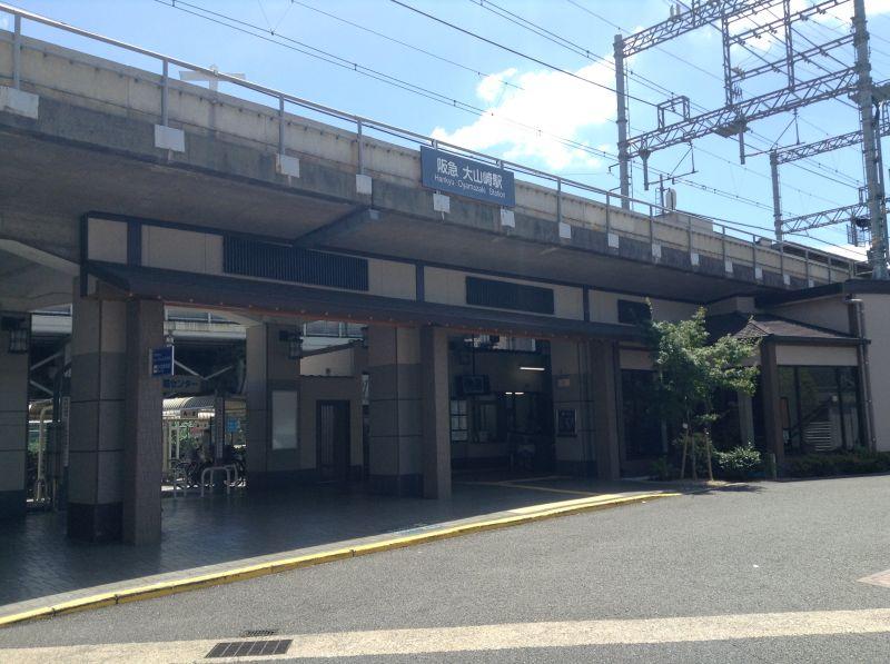 阪急大山崎駅外観