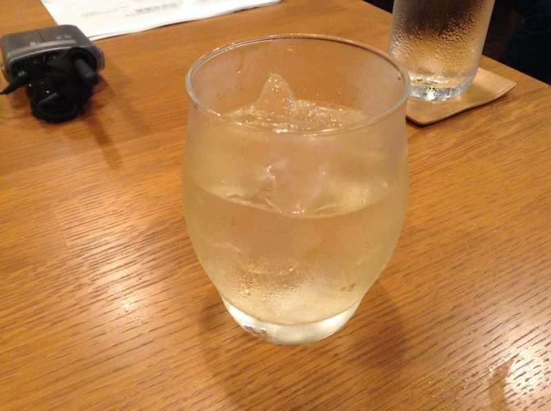 山崎の水割り