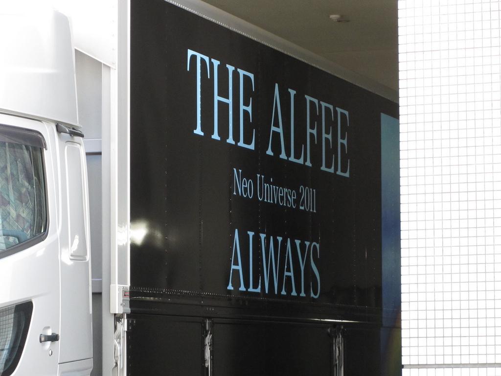 the alfee ツアートラック
