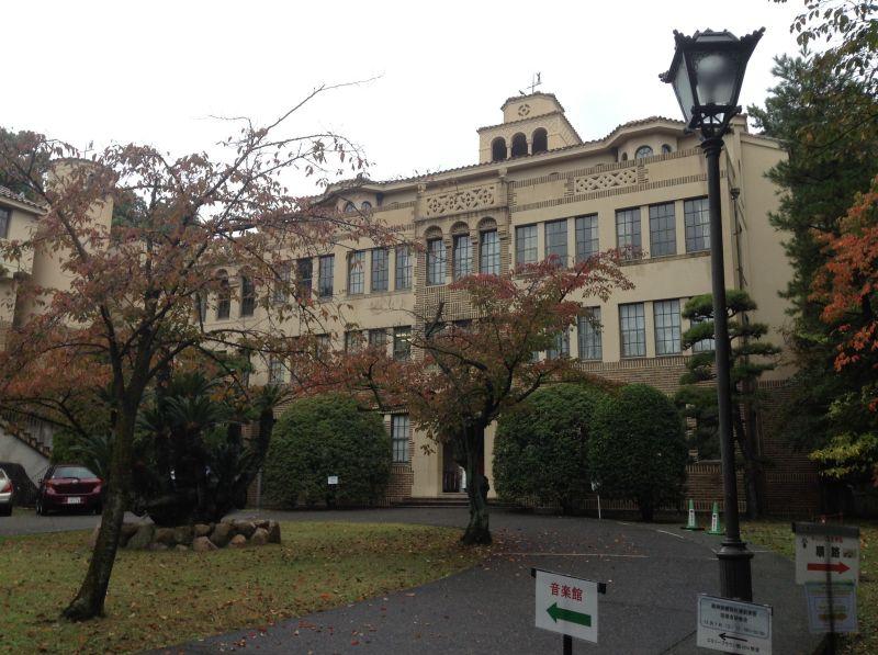 神戸女学院の建築