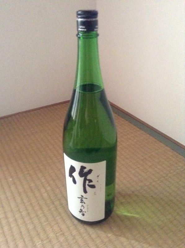 日本酒「作」