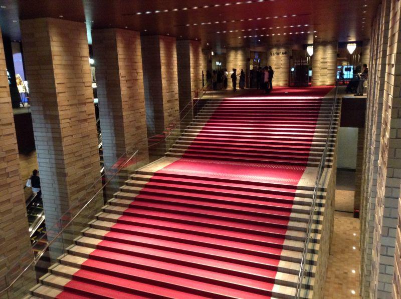 フェスティバルホール大階段