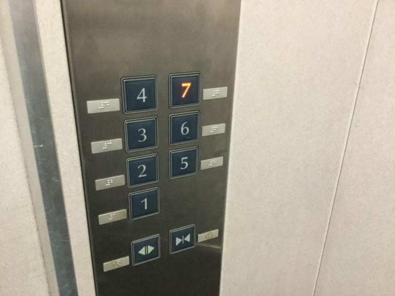 大阪教育大学エレベーター